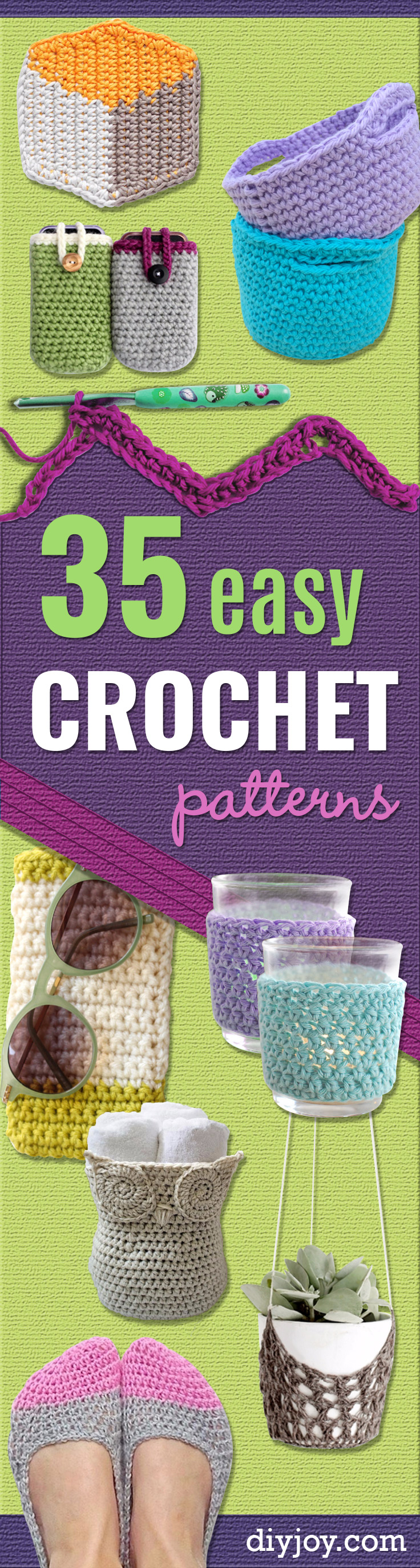 35 Easy Crochet Patterns