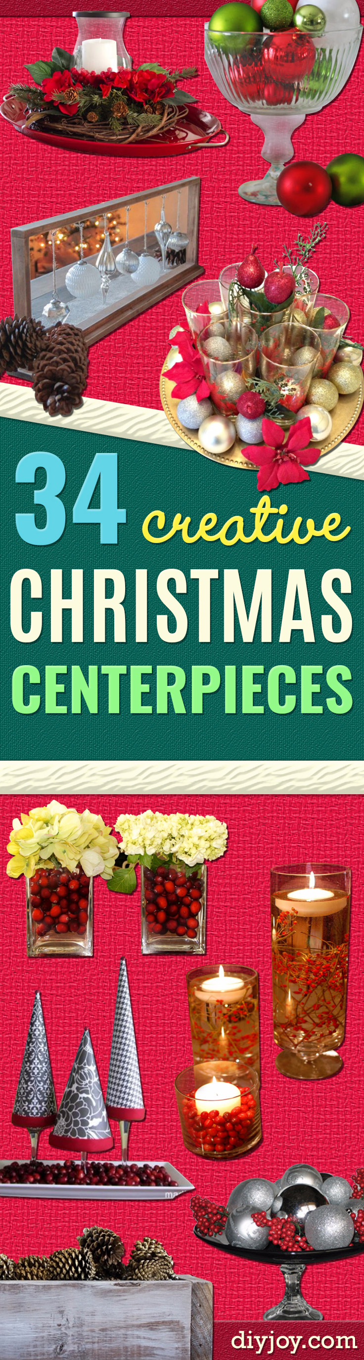 Christmas Centerpiece Craft Ideas