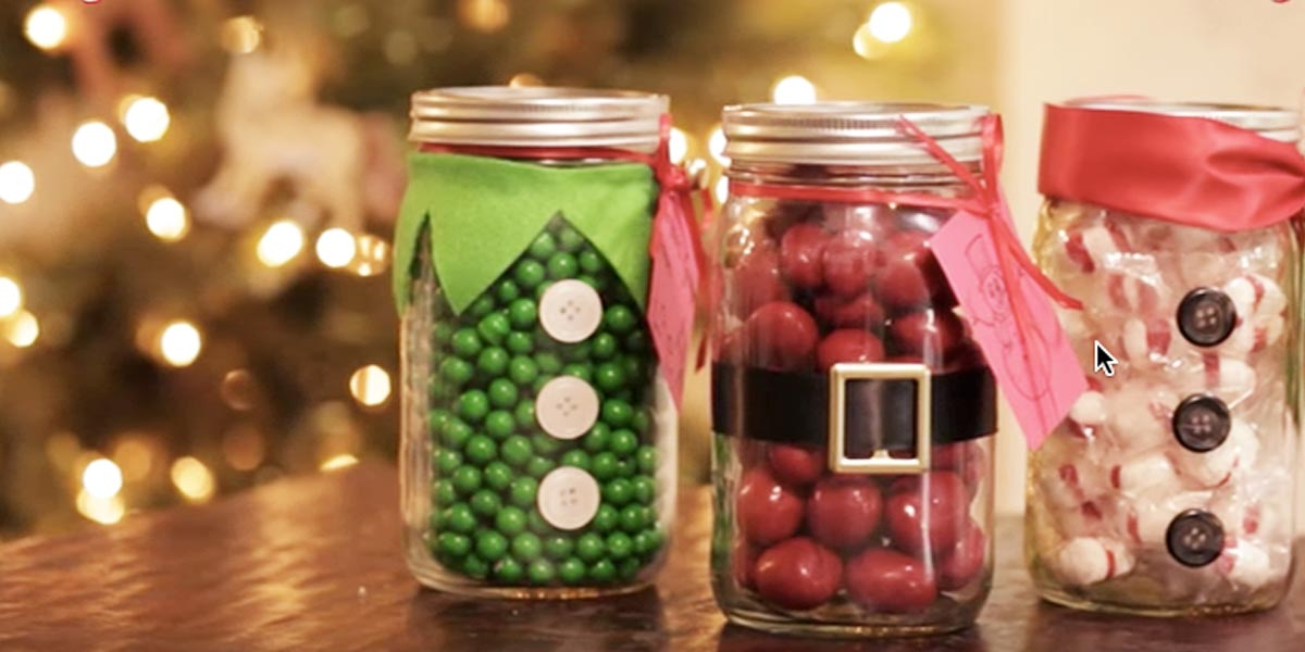 Jar Craft Mason Projects Holiday