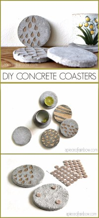 33 Awesome Ideas for DIY Coasters