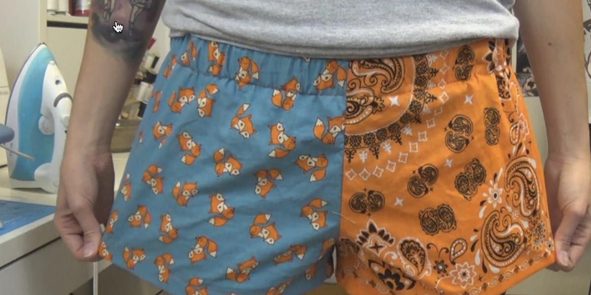 Watch How Easy It Is To Make These Cute Boxer Shorts
