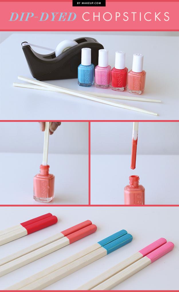 31 Creative Nail Polish Crafts