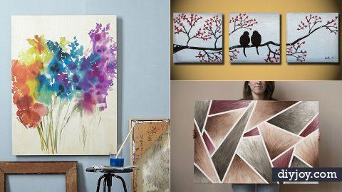 36 diy canvas painting