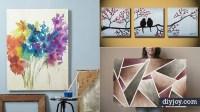 36 DIY Canvas Painting Ideas