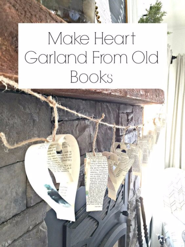 32 Awesome DIY Projects with Old Books