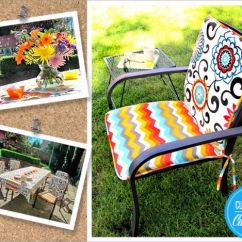 Sewing Patterns For Patio Chair Cushions Ergonomic Office Jakarta 33 Creative Projects Your The Outdoor With Pom Ties Step By
