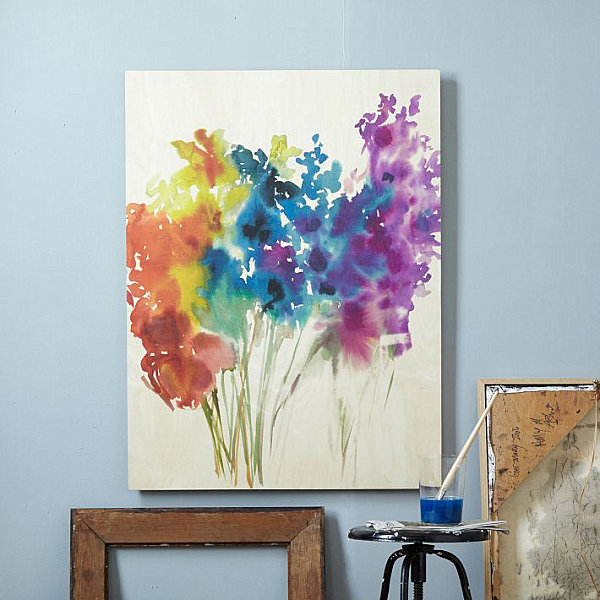 living room canvas art ideas den 36 diy painting abstract flowers cool and easy wall