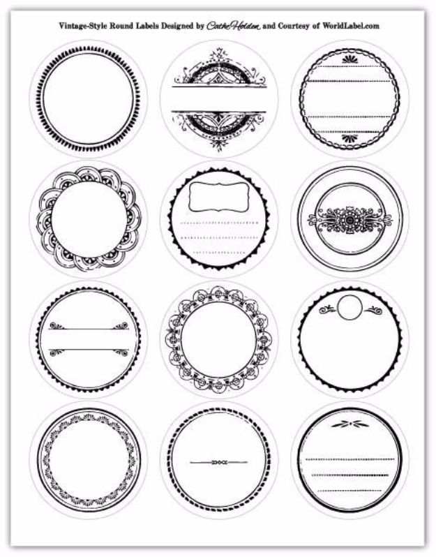 31 Free Printables and Templates for Mason Jars