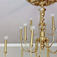 Antique Brass Kitchen Hardware The Latest Gadgets 33 Cool Diy Chandelier Makeovers To Transform Any Room