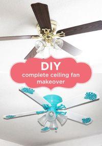 diy ceiling fan - Diy (Do It Your Self)