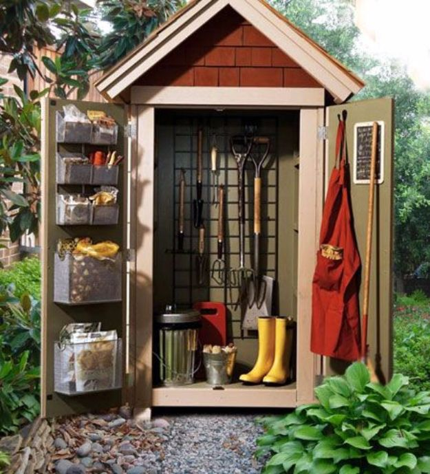 Cute Homemade Chicken Coop 31 Diy Storage Sheds And Plans To Make This Weekend