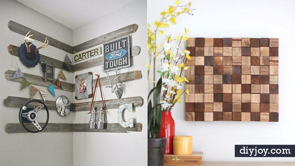42 Impressively Easy Rustic Wall Art Ideas