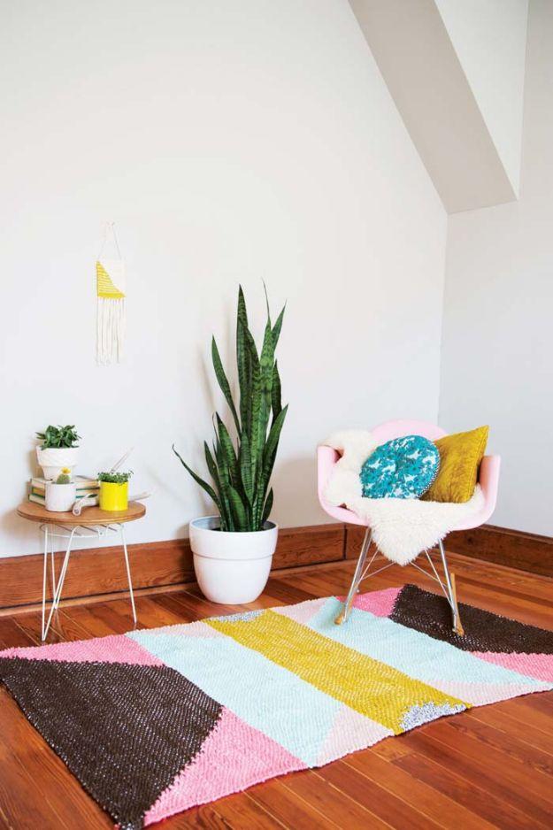 diy living room rug | Nakedsnakepress.com