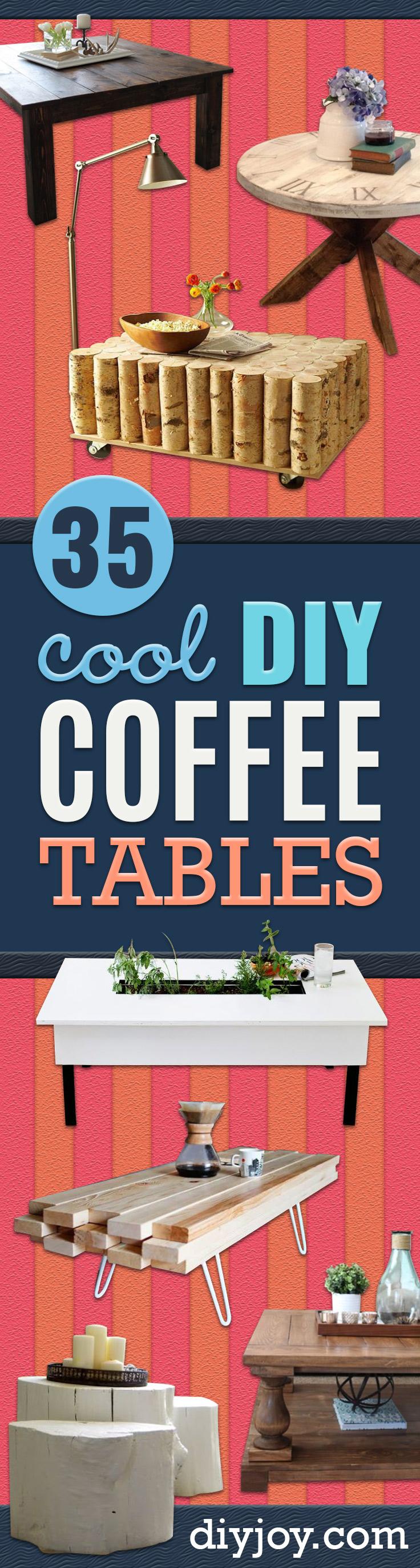35 diy coffee tables that belong in