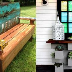 Do It Yourself Patio Chair Cushions Mustard Yellow Swivel Diy Furniture Ideas Cheap Porch And Easy Backyard Rocking