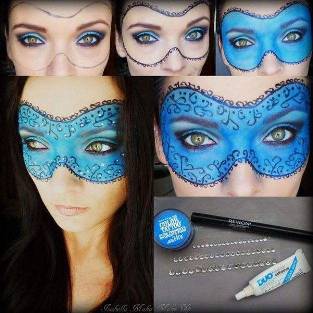 Masquerade Mask Makeup Tutorial