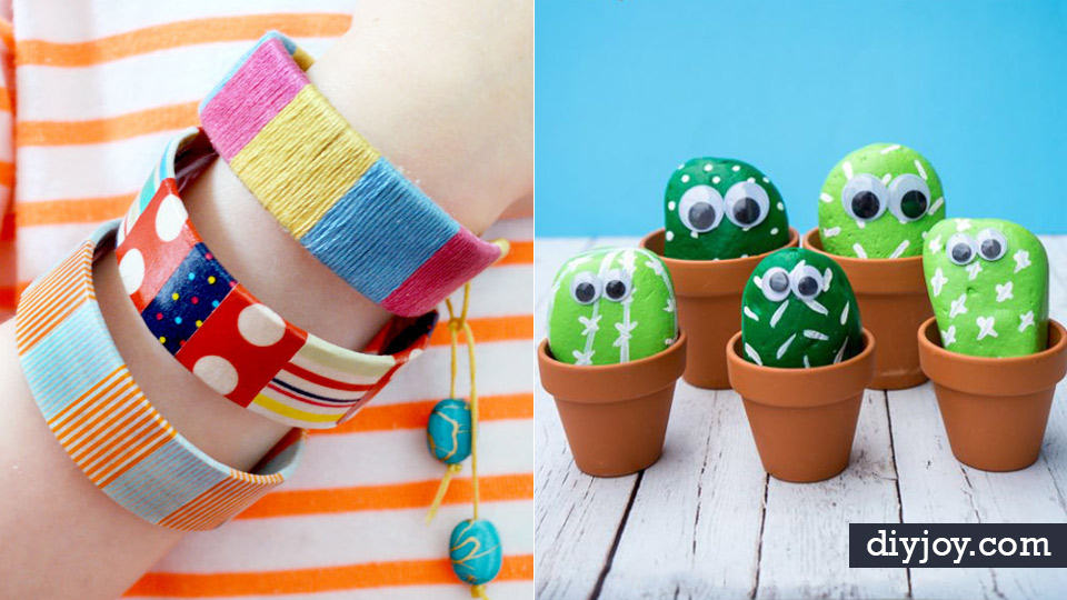 40 Crafts And Diy Ideas For Bored Kids