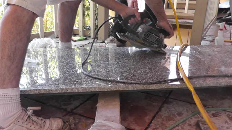 Cutting Granite With Circular Saw