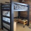 We built a loft bed diy loft bed
