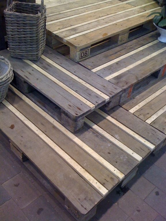 Diy Crafts Ideas Recycled Wooden Pallets Great Idea For Garden Decking Add The Strip Of Wood Be Diy Loop Leading Diy Craft Inspiration Magazine Database