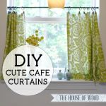 Best Diy Crafts Ideas Make Your Own Cute Diy Cafe Curtains With This Easy Step By Step Tutorial By Je Diy Loop Leading Diy Craft Inspiration Magazine Database