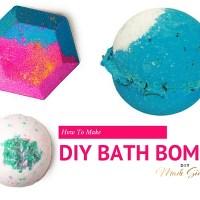 DIY Lush Bath Bombs