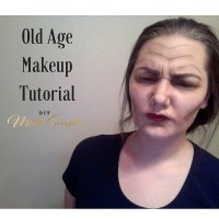 Old Age Makeup Tutorial
