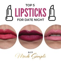 Top 5 Lip Colors For Date Night