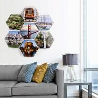 Hexagon Metal Prints