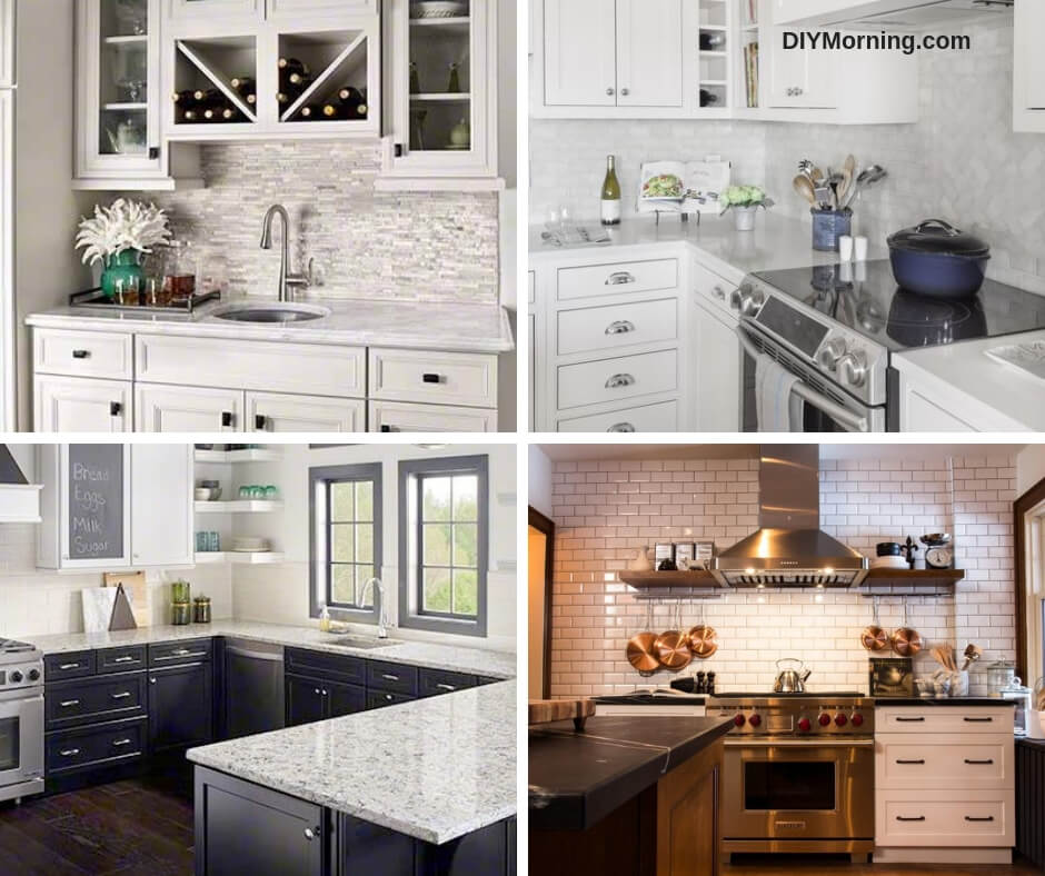 backsplash tile designs ideas in the