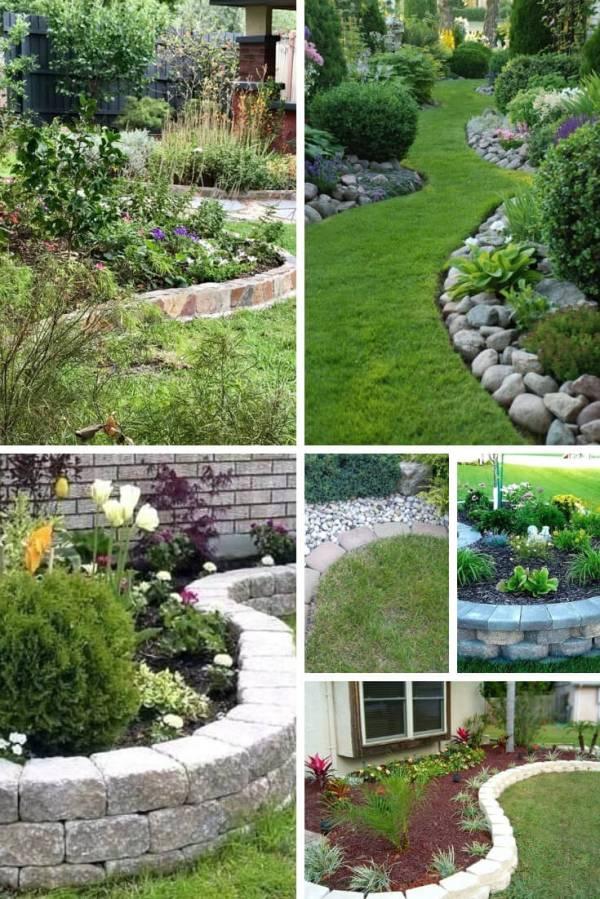 brilliant & cheap garden edging