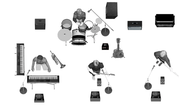How To Make A Stage Plot Input List For Your Band