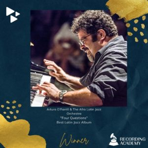 Arturo O'Farrill and the Afro Latin Jazz Orchestra 2021 Grammys