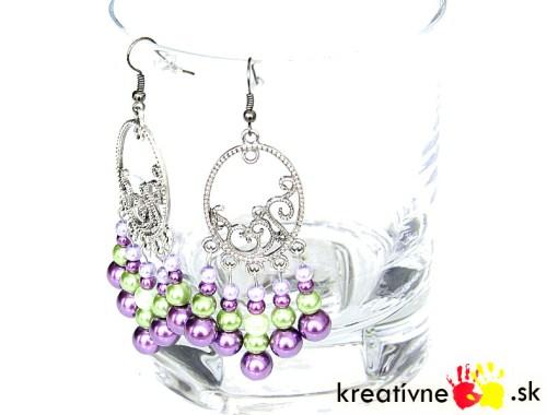 Návod na perlové náušnice