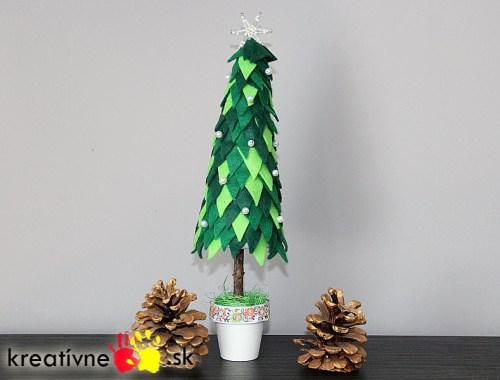 Návod na vianočný stromček