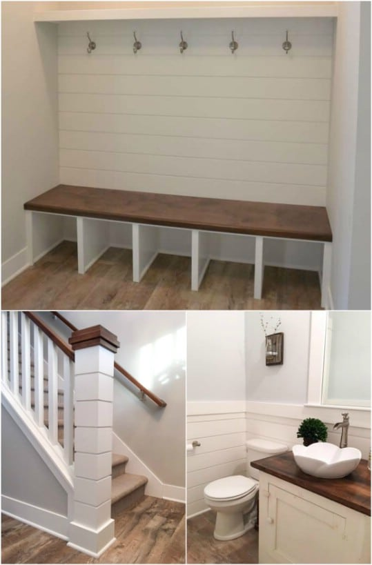 Diy Fireplace Makeover Ideas 25 Rustic Shiplap Decor And Furniture Ideas For A