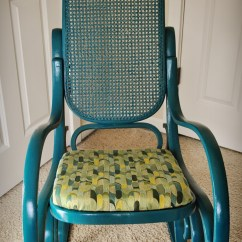 Wicker Rocking Chairs Mesh Folding Chair Completedwood And Rattan Diy Newbies