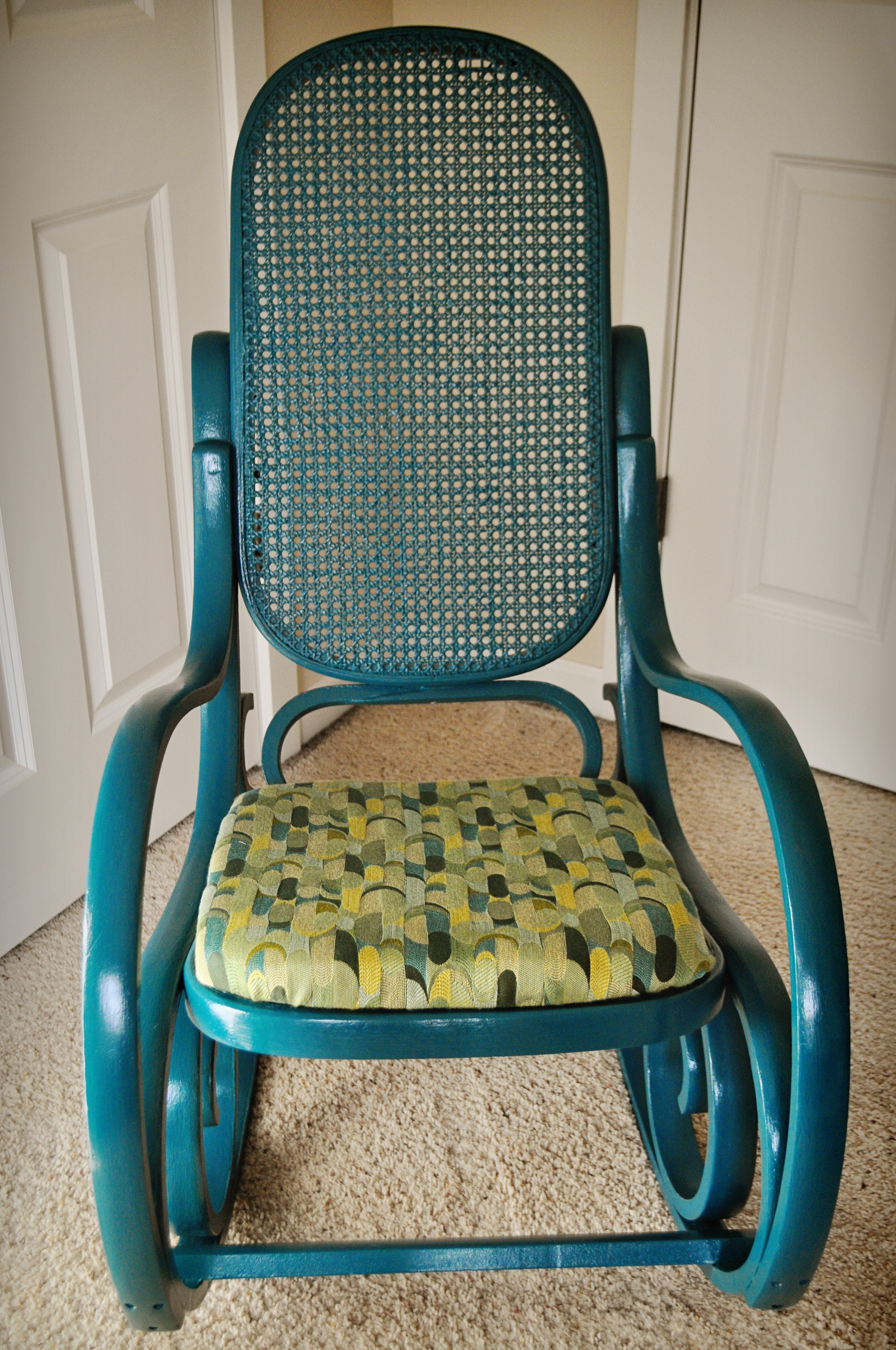 Wicker Rocker Chair Completedwood And Rattan Rocking Chair Diy Newbies