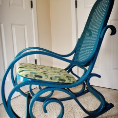 Diy Wicker Chair Cushions Aluminum Patio Chairs Swivel Completedwood And Rattan Rocking Newbies
