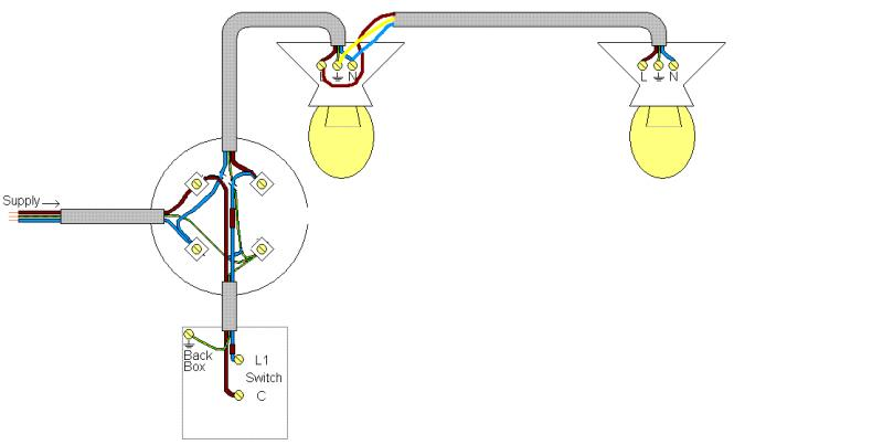 SINGLE SWITCHED LIGHT TO 2 WAY + ADDING ANOTHER LIGHT