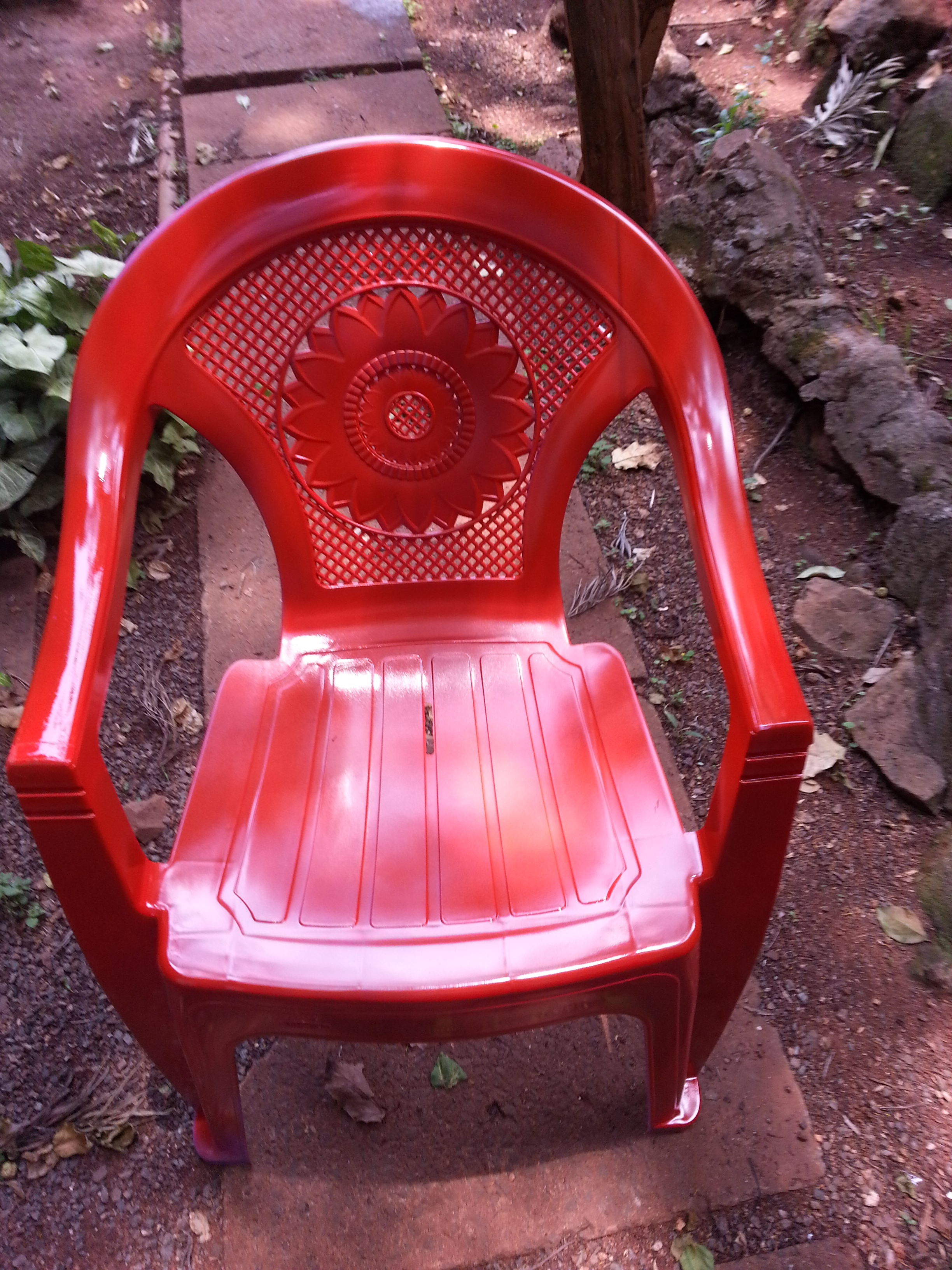 how to paint plastic chairs ghost singapore spray painted diy nyumbani