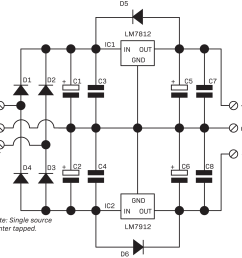 power supplies connected together 2 circuit is useful for op amps and devices requiring 12vdc [ 1600 x 1546 Pixel ]