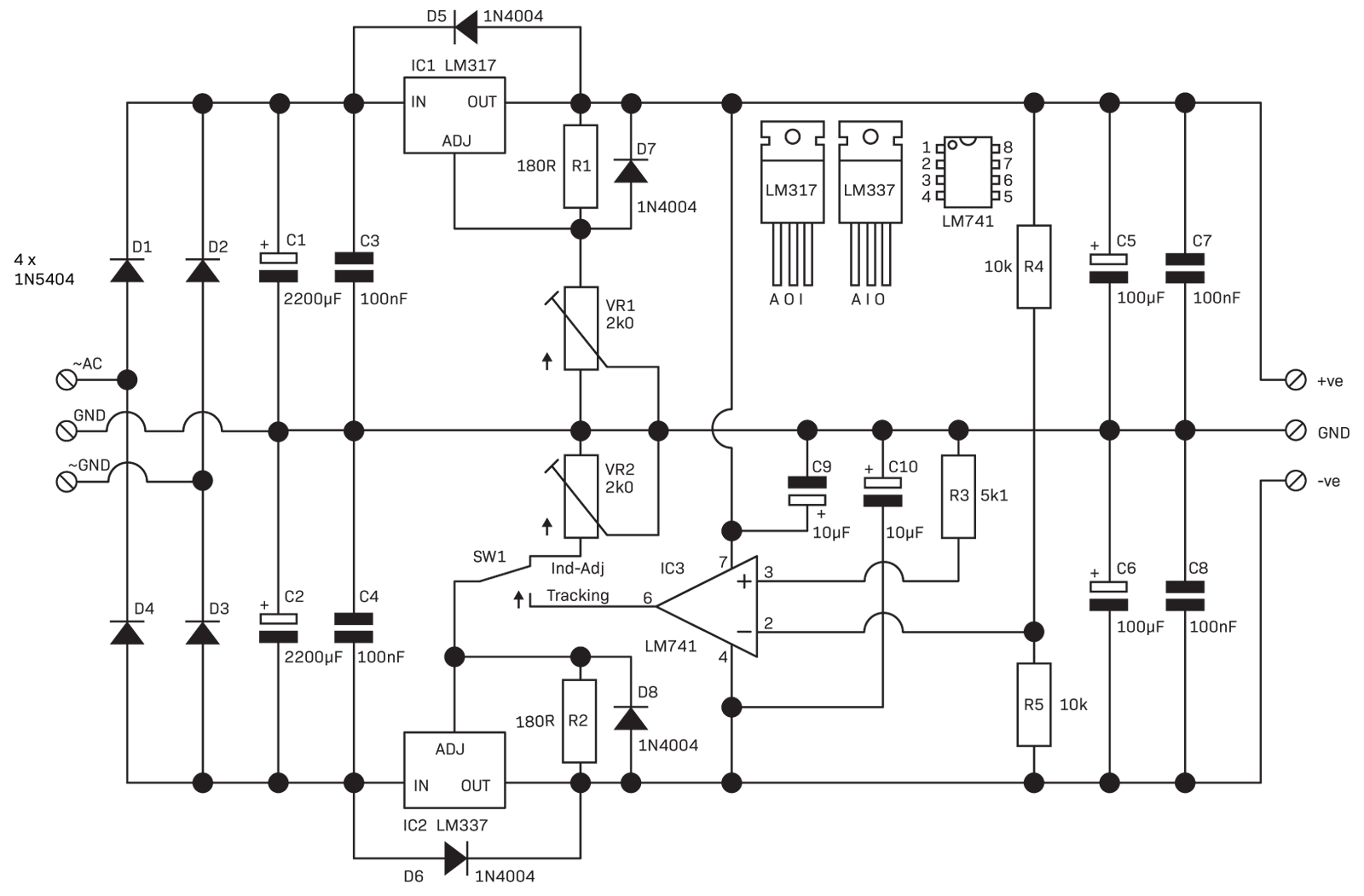 hight resolution of regulation circuit