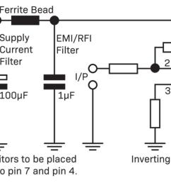 another method is to use ferrite beads or ferrite inductors to reject unwanted noise from your precious circuit sometimes a low value series resistor can  [ 1600 x 760 Pixel ]