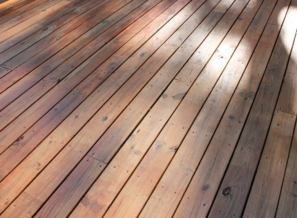 How to Stain a Deck  HomeRight StainStick w Gap Wheel