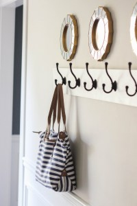 How to Build a Wall Mounted Coat Rack - Erin Spain