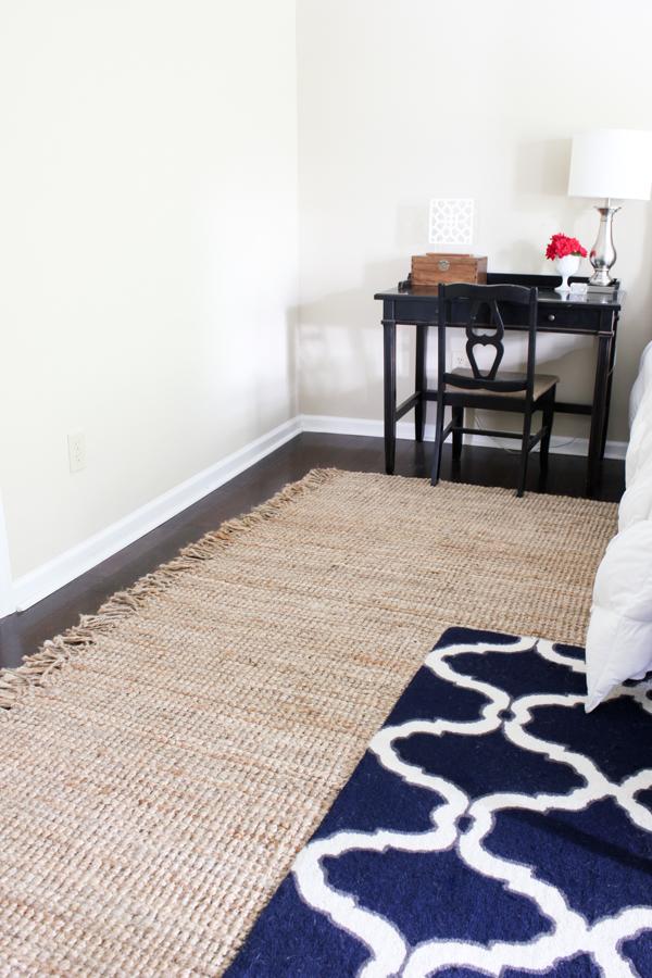 Master Bedroom Plans  New Jute Rug  Erin Spain