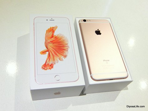 SMART iPhone 6S in Rose Gold