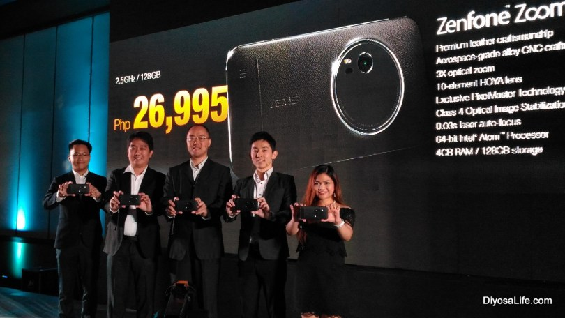 Asus Zenfone Zoom Launch at Sinulog 2016