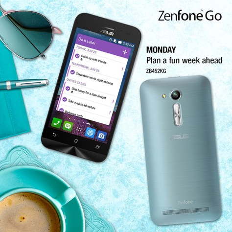 Asus ZenFone Go 7 Days of Summer - Monday